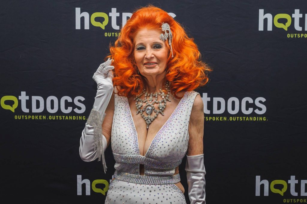 Tempest Storm at her film screening in Toronto Canada. Photo by Black Umbrella Photography.