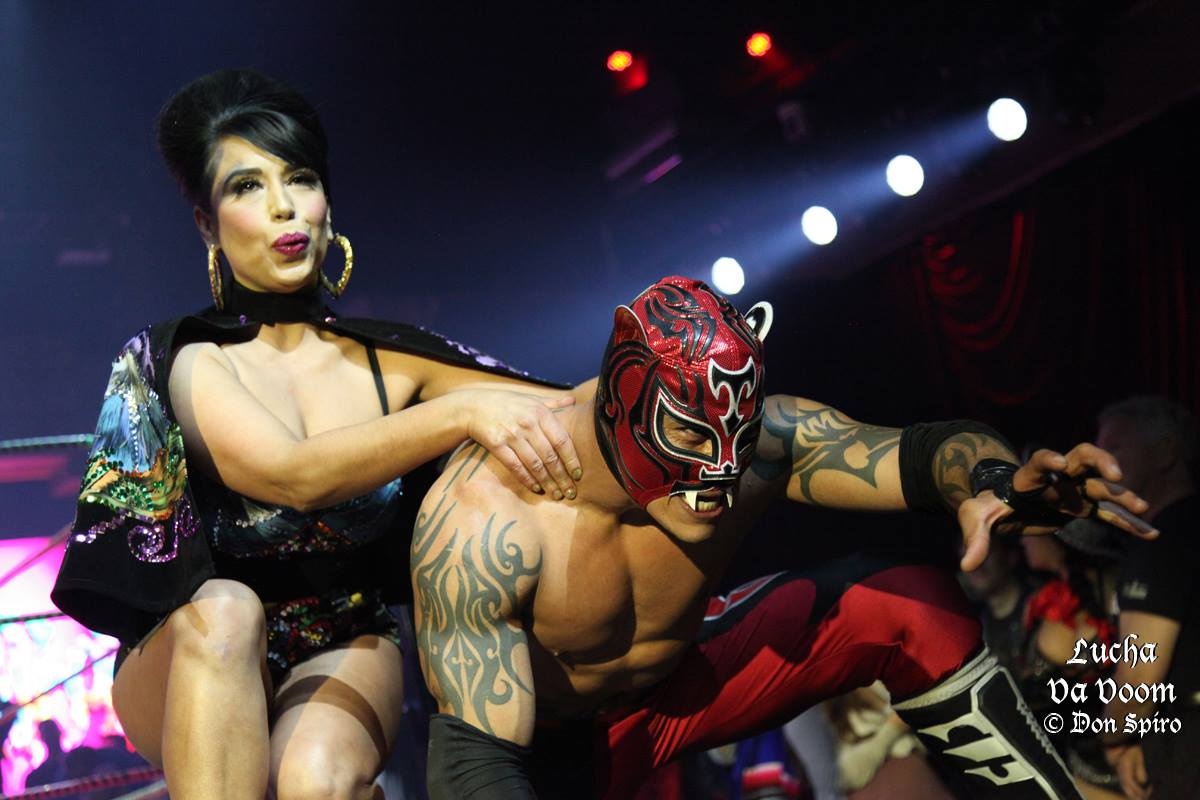 Lucha VaVOOM! Photo by Don Spiro.
