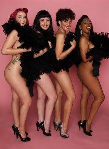 The Viva Dallas Burlesque Showgirls. Photo by Dallas PinUp.