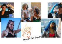 Ginger Fatale presents virtual burlesque show