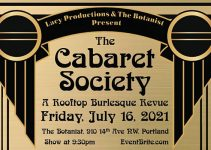 Oregon Burlesque: The Cabaret Society presents, A Rooftop Burlesque Revue